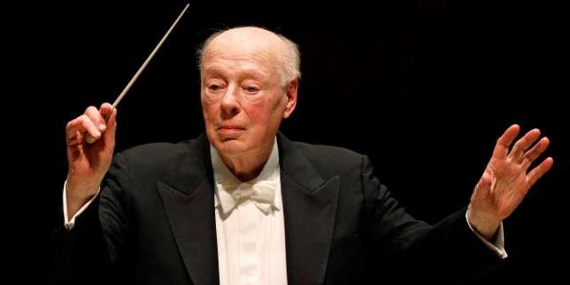 Mort du chef d'orchestre néerlandais Bernard Haitink