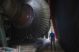Dans la centrale nucléaire de Chinon (Indre-et-Loire), le 8 juillet 2020.