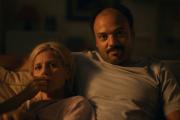 Marina Foïs et Vincent Eboué dans le film «Barbaque».