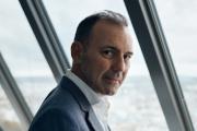 André-Hubert Roussel, mercredi 20 octobre, au siège d'ArianeGroup à Paris.