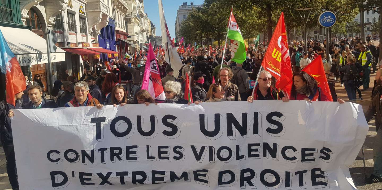 A Lyon, la jeunesse « antifa » s'organise contre l'extrême droite