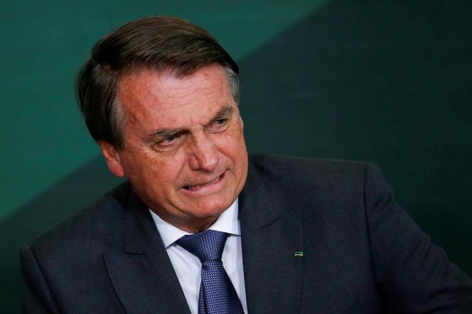Jair Bolsonaro, le 25 octobre 2021, à Brasilia.