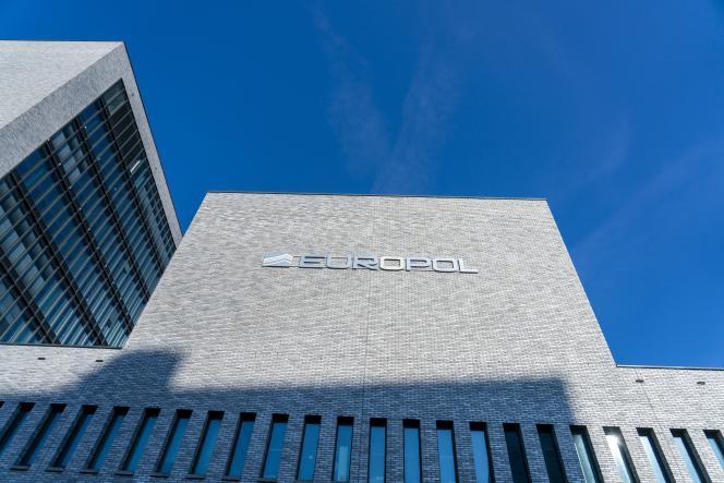 Vue des bâtiments de l'agence de police européenne Europolle 8 juin 2021 à LaHaye (Pays-Bas).