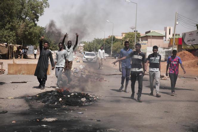 A Khartoum, au Soudan, le 26 octobre 2021.
