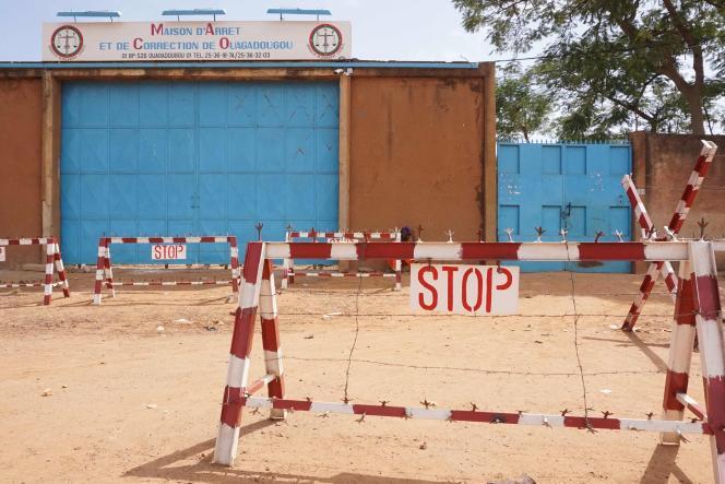 La prison centrale de Ouagadougou, en 2018.