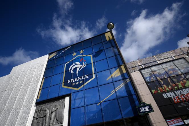 Le siège parisien de la Fédération française de football, le 13mai2021.