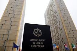 LaCour de justice de l'Union européenne(CJUE), à Luxembourg, en janvier2017.