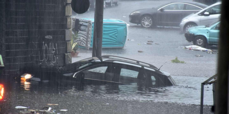 Sicile : des pluies torrentielles provoquent des inondations
