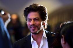 L'acteur de Bollywood Shah Rukh Khan, à Bombay (Inde), en février 2020.