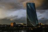 Le siège de la Banque centrale européenne; à Francfort, en Allemagne, le 11 mars 2021.