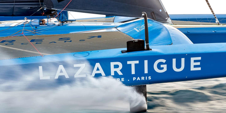 Transat Jacques Vabre : quand le bateau ressemble à un avion de chasse