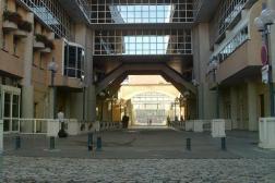 L'arche de l'Ecole nationale supérieure (ENS) de Lyon.