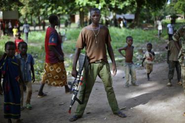 Les soldats anti-balakas ont aujourd'hui gagné la guerre. La Séléka a été chassée du pouvoir, presque tous les musulmans ont fui.