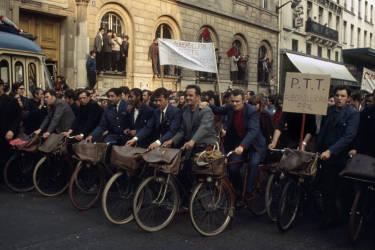 Manifestation parisienne du 29 mai 1968.